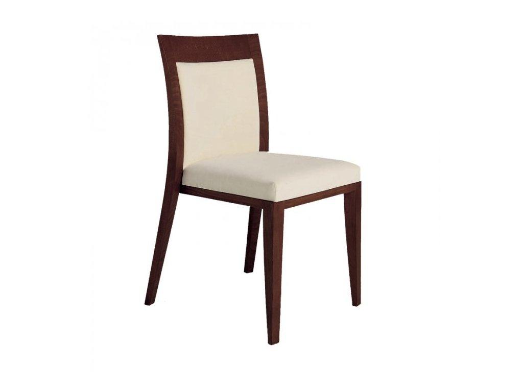 Luxusní dřevěná židle Logica 912