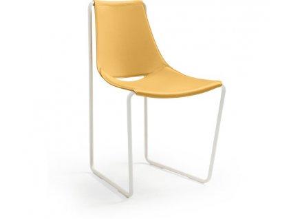 Luxusní kožená jídelní židle Apelle
