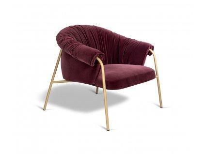 Designové lounge křeslo Scala