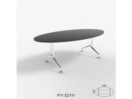 Konferenční stůl Roayl P 11 oválny. Na objednávku. Cena na dotaz.