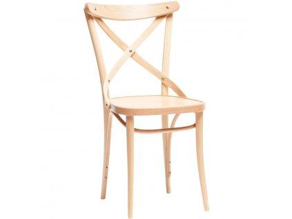 Dřevěná buková jídelní židle 150. Na objednávku. Cena na dotaz.