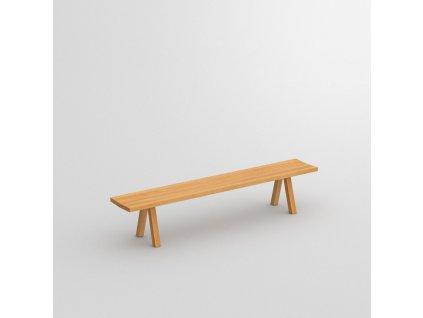 Dřevěná jídelní lavička Papilio basic