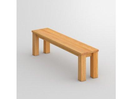 Dřevěná jídelní lavička Forte 3