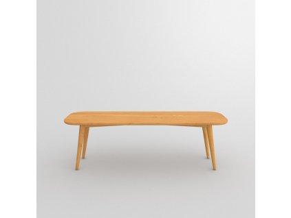Dřevěná jídelní lavice Ambio