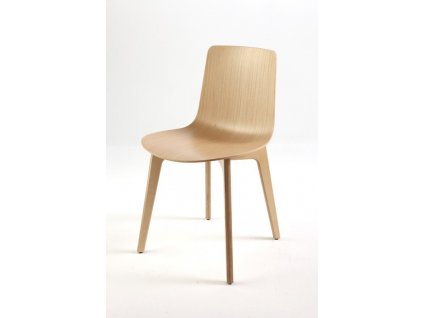 Dřevená židle Lottus wood