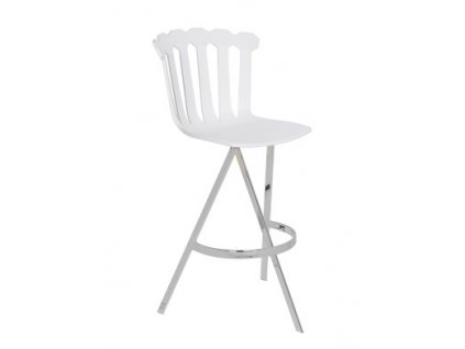 Zajímavá barová židle Esmeralda