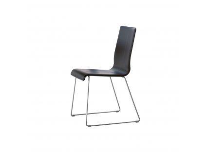 Čalouněná kožená židle Kuadra 1298