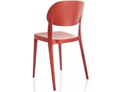 Moderní židle Amy 2 kusy červené