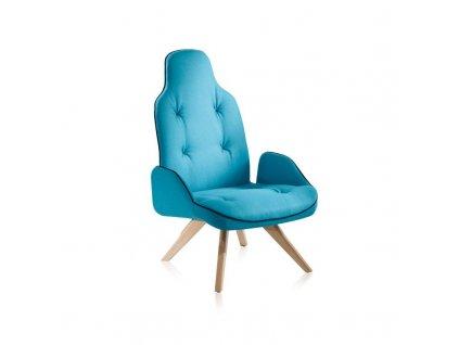 Komfortní lounge křeslo Betibu P