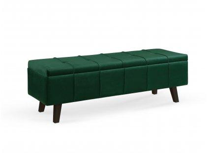 Moderní čalouněná lavice Massimo