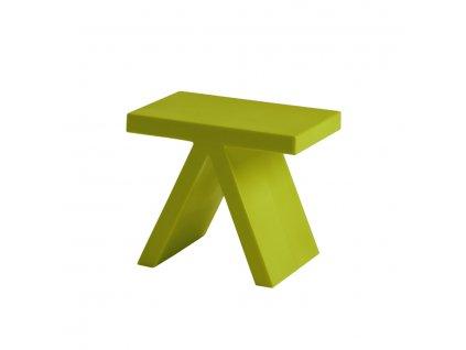 Moderní stolek Toy zelený