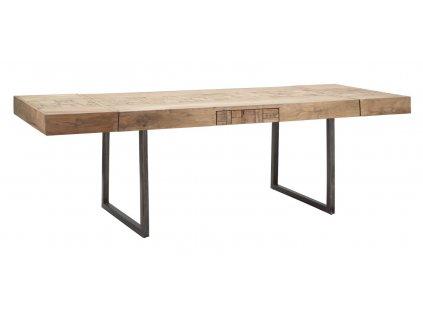 Dřevěný jídelní stůl Mumbai 160x70