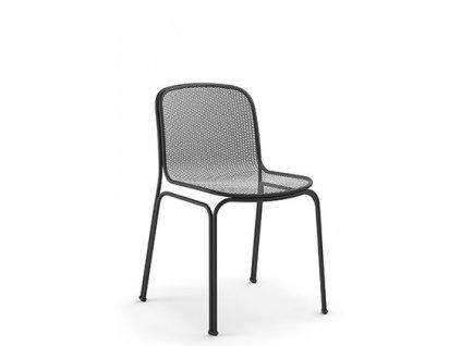 Moderní kovová židle Villa