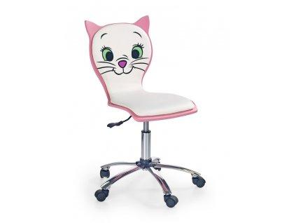 Dětská židle na kolečkách Kitty