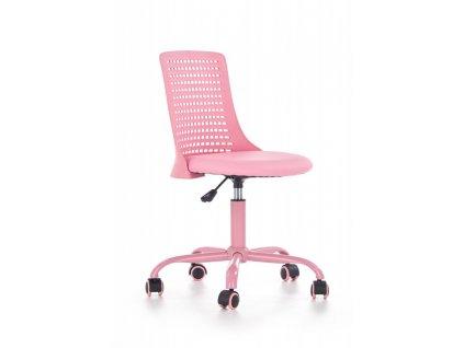 Dětská moderní židle na kolečkách Pure