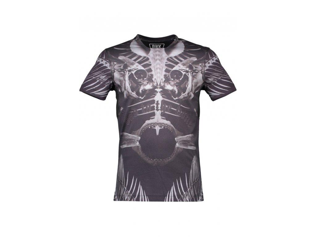 BIKKEMBERGS tričko s krátkým rukávem