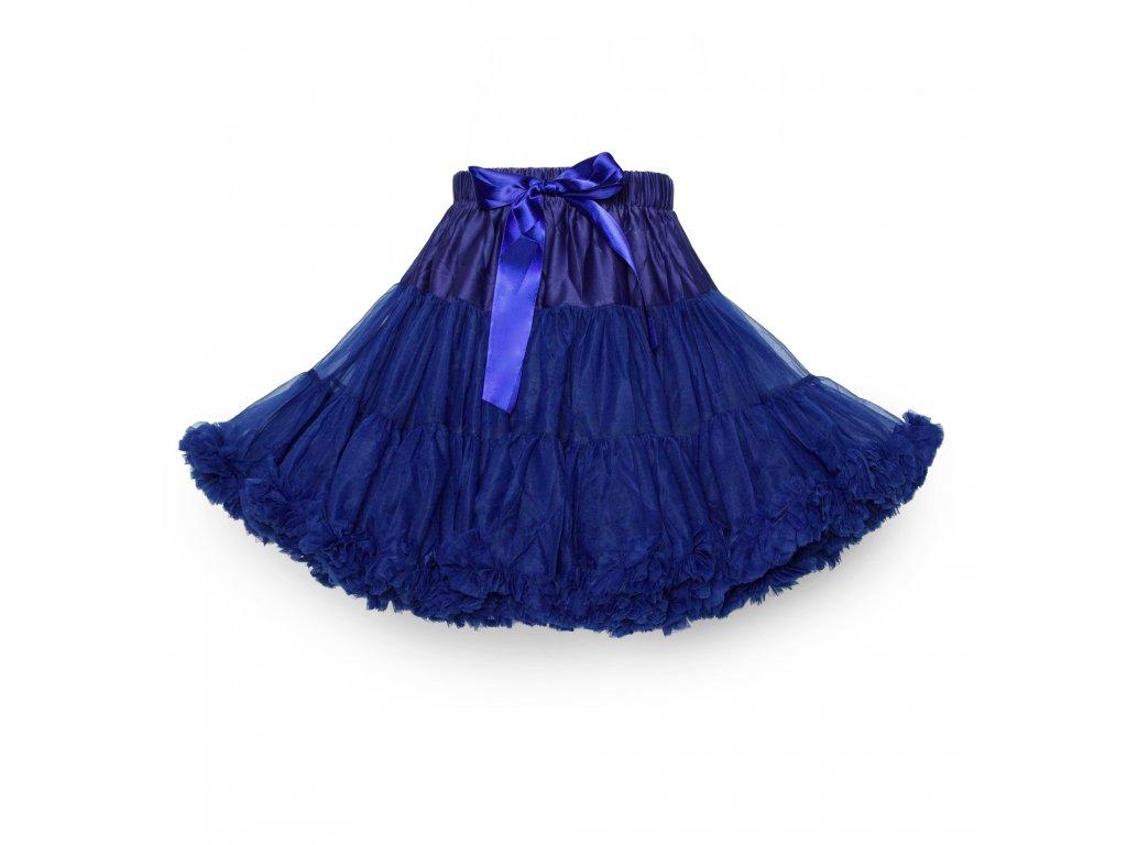 Tutu sukně dámská tylová extra - námořnicky modrá