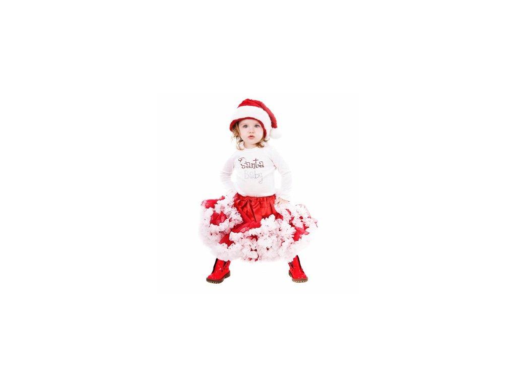 christmas pettiskirt dress for kids 2014