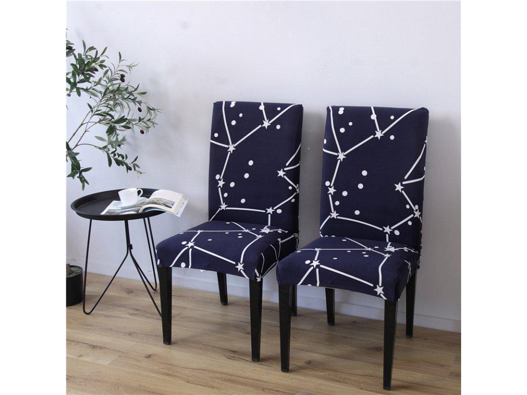 Napínací potah na židle - vzor 34