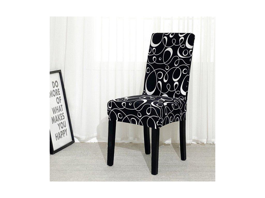 Napínací potah na židle - vzor 37