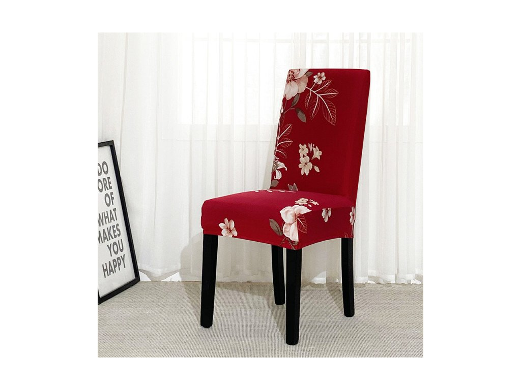 Napínací potah na židle - vzor 38