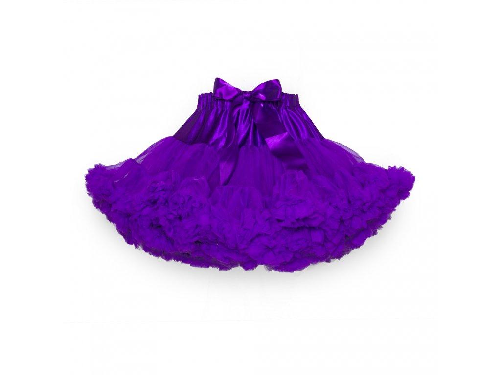 Tutu sukně dámská tylová Maxima - fialová