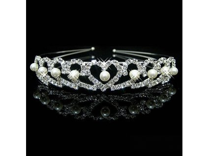 Wedding Bridal Bridesmaid Tiara Crown Headband Heart Girls Love Crystal Rhinestone Jewelry hair Accessories Bride Head.jpg 640x640ni