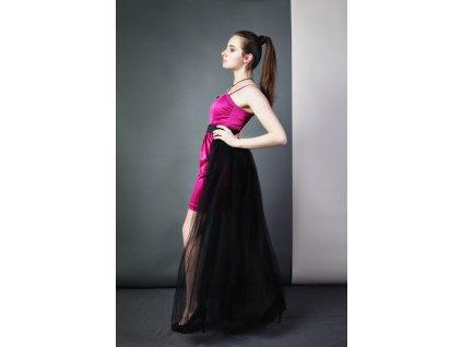 Tutu sukně - stylová vlečka- černá