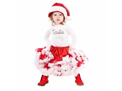 christmas pettiskirt dress for kids 2014