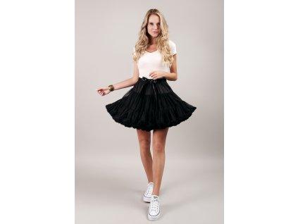Tutu sukně dámská tylová Maxima - černá