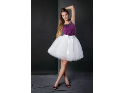 women rolay blue Tulle skirt adult tutu 7 layer tulle skirt bridal shower tutu dance bridesmai.jpg 640x640xnyx