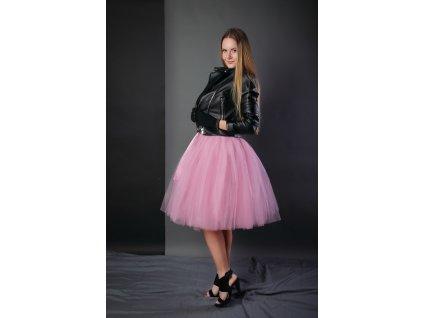 TUTU sukně tylová dámská - KORÁLOVÁ