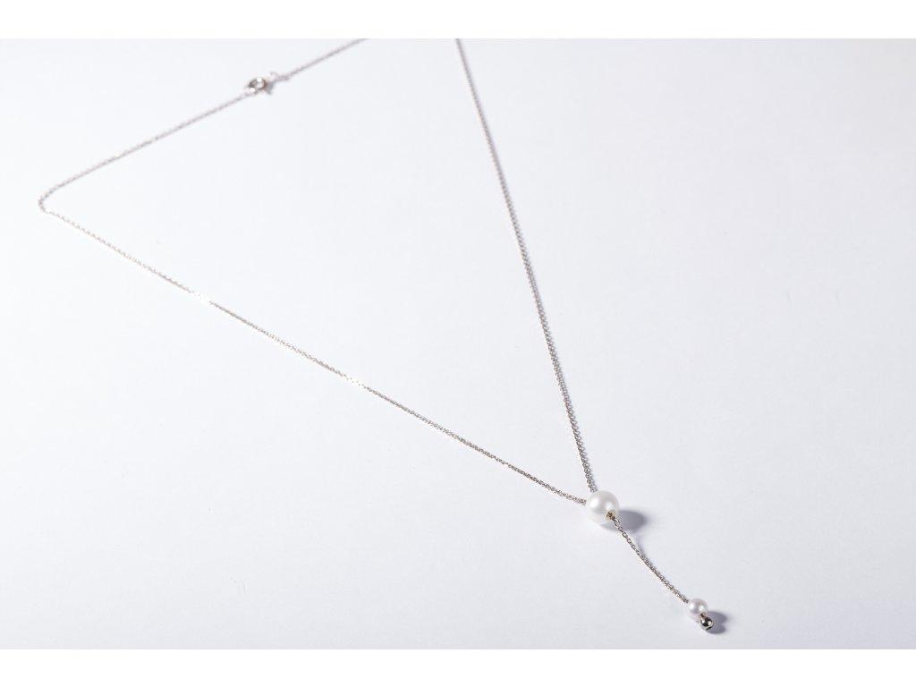 náhrdelník se sladkovodními perlami
