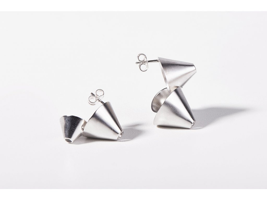 funnel earrings