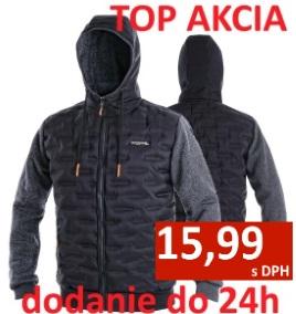Pracovné odevy - zateplená pánska bunda - akcia