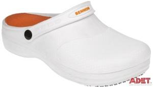 biela pracovná obuv