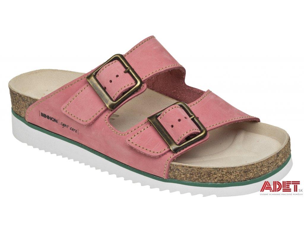 bennon pink panther heel slipper Z60028 front 3