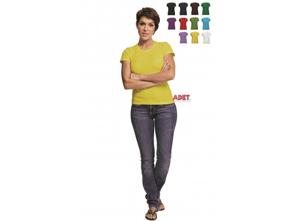 f4fde5f2db52 Pracovné odevy - tričko s krátkym rukávom SURMA - ČERVA - ADET SK s.r.o.