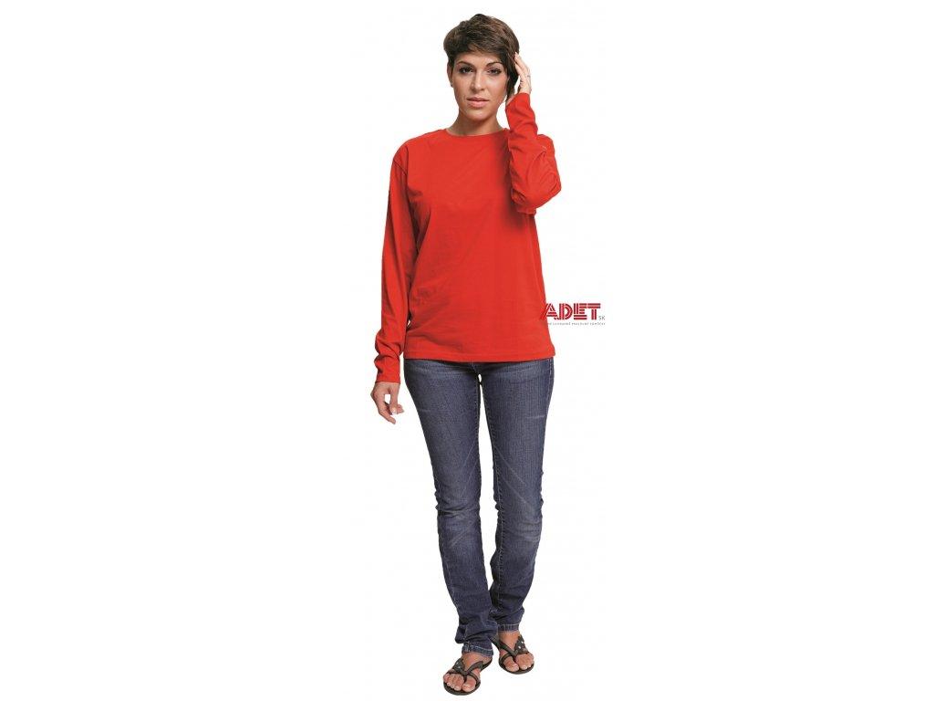 21a1a239430c Pracovné odevy - tričko s dlhým rukávom CAMBON - ČERVA - ADET SK s.r.o.