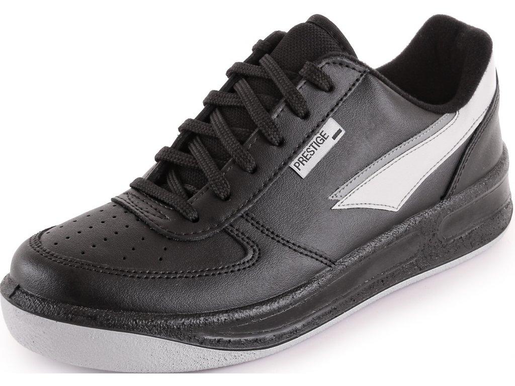 5382609344 Pracovná obuv PRESTIGE Lacing Low čierna - ADET SK s.r.o.