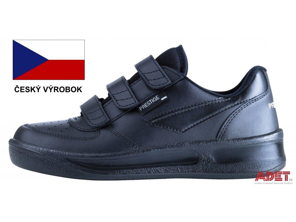 67805e0df5 Pracovná obuv PRESTIGE Velcro Low čierna - ADET SK s.r.o.