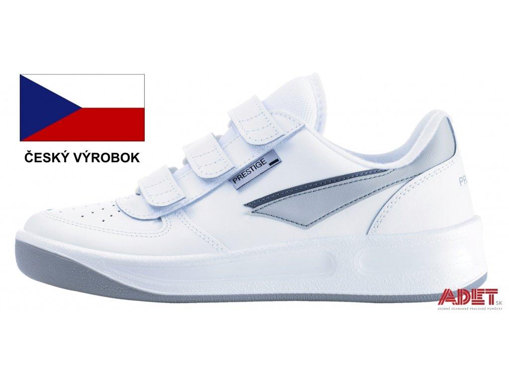 88e607dd5e Pracovná obuv PRESTIGE Velcro Low biela - ADET SK s.r.o.