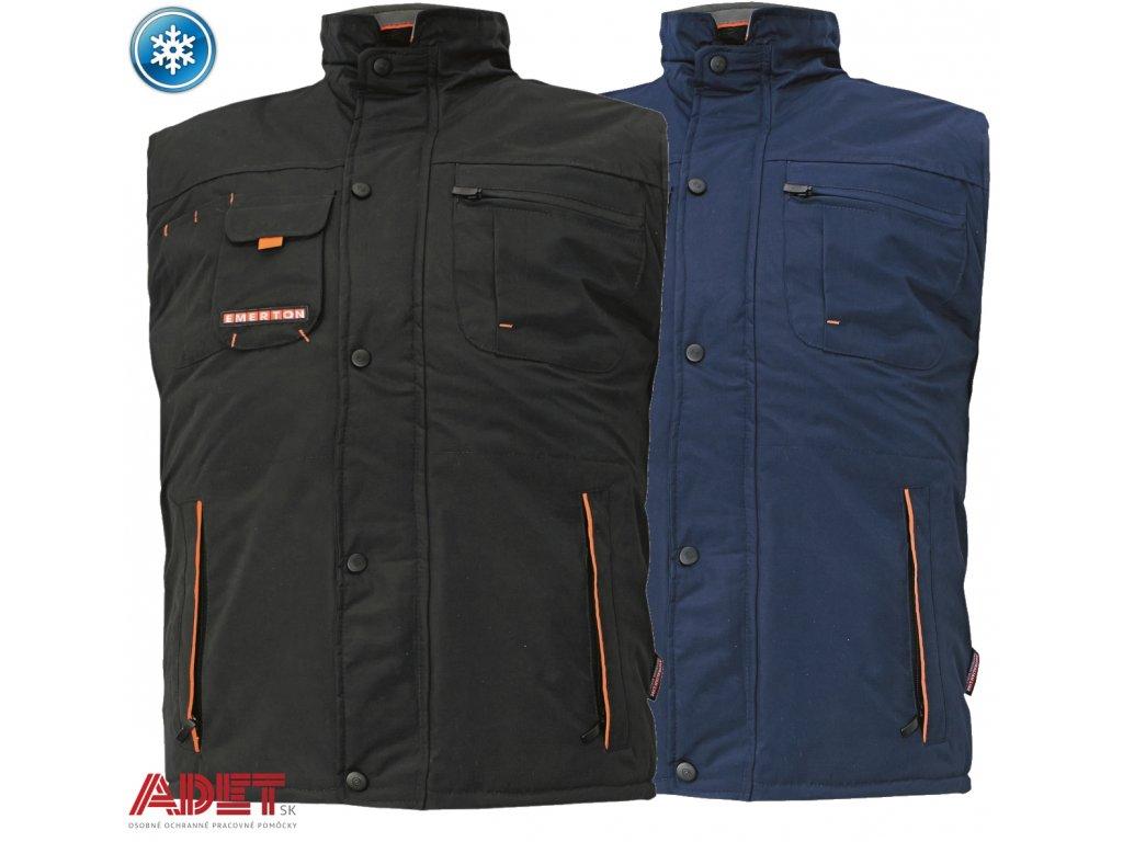 Pracovné odevy - zimná pracovná vesta EMERTON ČERVA - ADET SK s.r.o. 20427759ea3