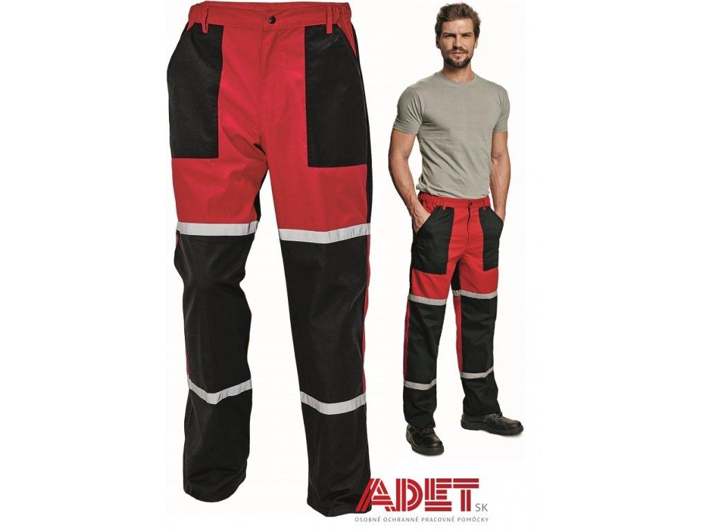 nohavice pracovne do pasa cerva 03020115 TAYRA pants 2