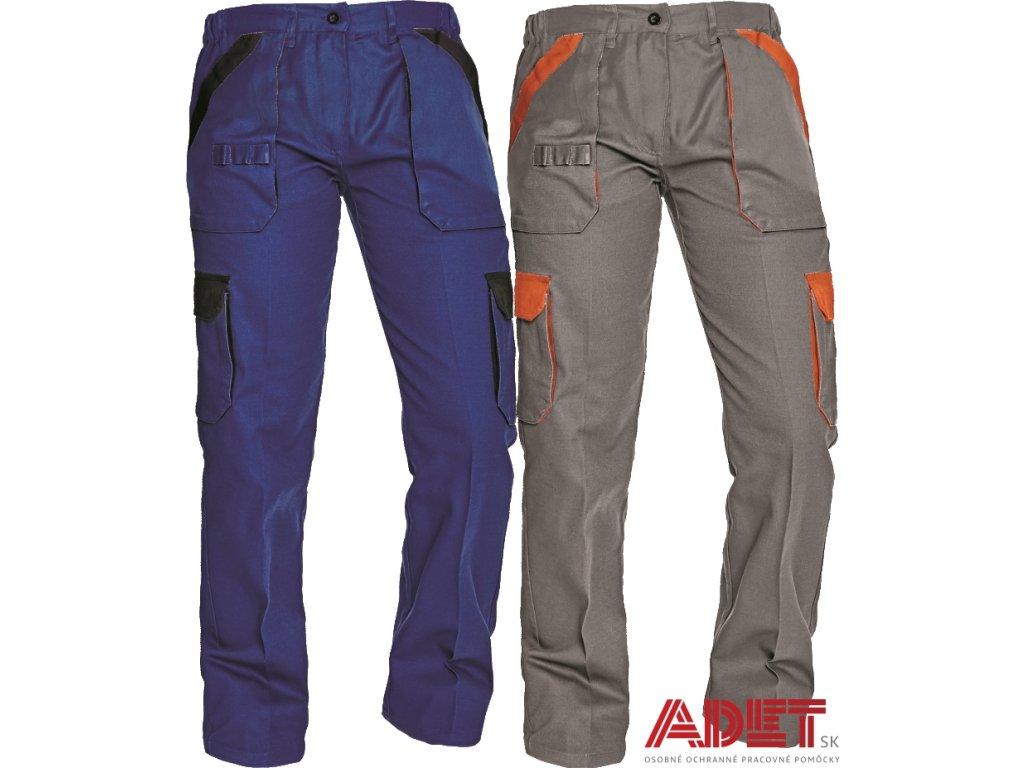 4ea22fc35707 Pracovné odevy - dámske montérkové nohavice do pása MAX LADY ČERVA ...