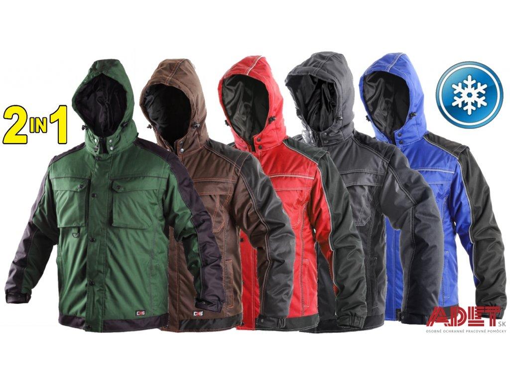 Pracovné odevy - zimná bunda CXS IRVINE - ADET SK s.r.o. 57ffc6576fa