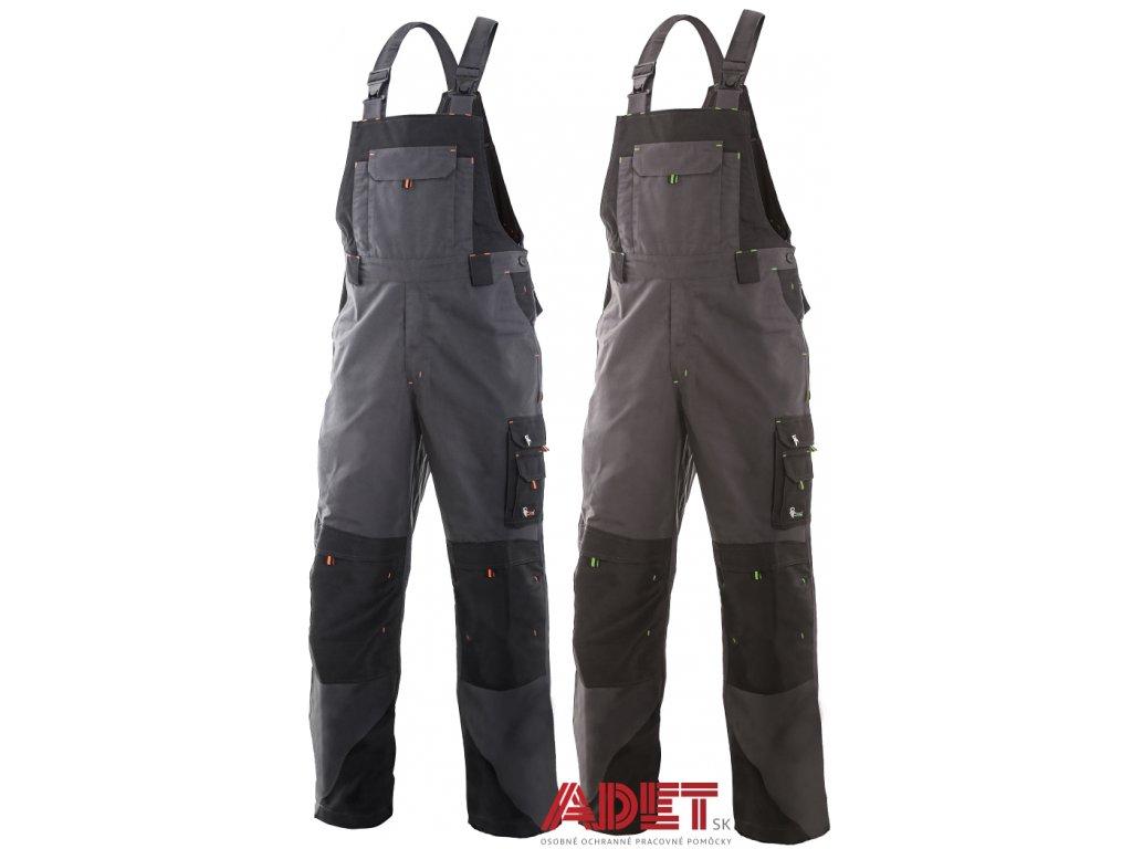 4e395bc265e8 Pracovné odevy - montérkové nohavice na traky CXS SIRIUS TRISTAN ...
