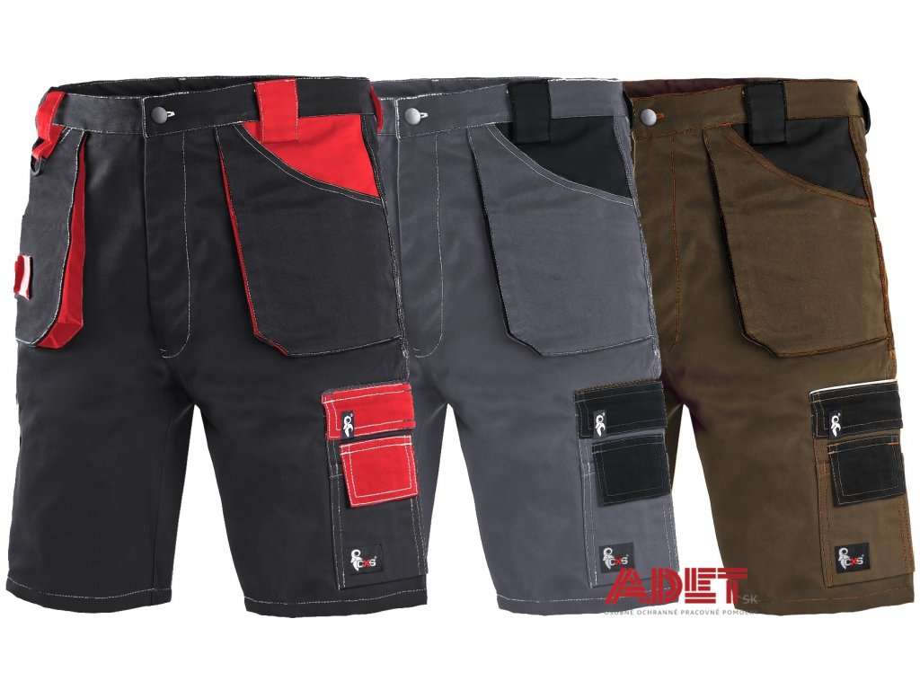Pracovné odevy - montérkové kraťasy CXS ORION DAVID - ADET SK s.r.o. 5fbffeedc8
