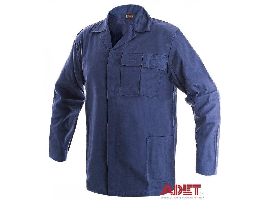 pracovna bluza cxs klasik mirek 1010010400 modra