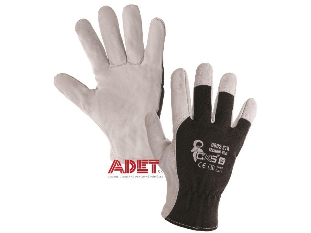pracovne rukavice cxs technik eco 3210011801